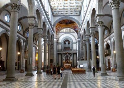 Florence-Basilica SanLorenzo-May 2018-01
