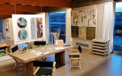 Tour virtuale della nuova mostra della Galleria SaSa Art presso le Cantine Surrau