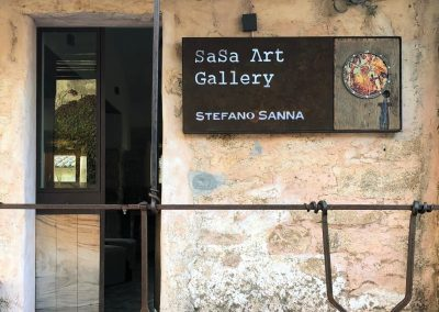 San Pantaleo-SaSa Art Gallery-Entrance